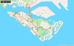 Map My Ride App Cycling Sentosa On An Obike U2013 Books U0026 Travel