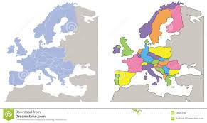 Europe Map Puzzle by Romania On Europe Map Stock Images Image 4291204