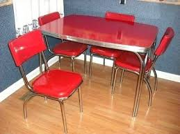 1950s chrome kitchen table and chairs 1950s chrome kitchen table and chairs thegoodcheer co