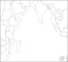 Indian Ocean Map Indian Ocean Free Map Free Blank Map Free Outline Map Free Base