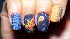 autumn design of nails top amazing designs of nails the best