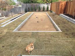 bocce ball court 10x40 for the home pinterest bocce ball