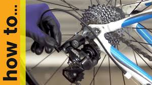 bike gear how to replace gear cables on a road bike youtube