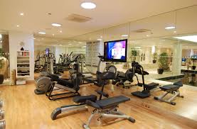 decorations cool home gym ideas with attractive and fun set up