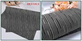 black floor mats pvc vinyl office rugs eco hotel bamboo