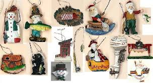 tree ornaments fishing tree ornaments