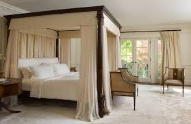 bedroom diy four poster bed canopy traditional bedroom diy four