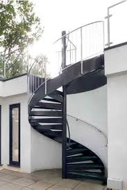 steel spiral stairs supplied is a wide variaty of diameters and height