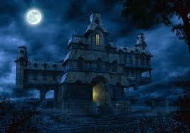 gif halloween castello tenebroso gif animata halloween