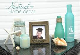 Martha Stewart Home Decorating 365 Designs Turning Jars Into Beach Glass U0026 Other Modern Nautical