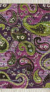 Mauve Runner Rug Green And Purple At Rug Studio