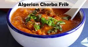 cuisine ramadan shorba frik ramadan chorba frik recipe from algerian cuisine