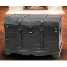 steamer trunk nightstand wayfair