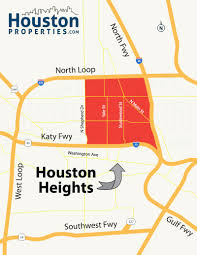 Katy Trail Dallas Map by Houston Heights Neighborhood U0026 Real Estate Trends