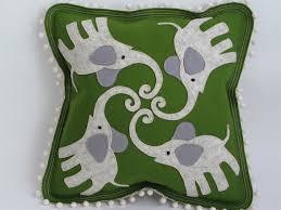 aesthetic oiseau felt applique pillows on etsy