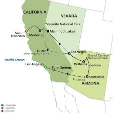 Map Of Western United States Tour West America With Our Travel Partner Affordable Travel