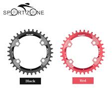 Gub 34t Al7075 Bicycle Chainwheel Aluminum Alloy 96bcd Chainring