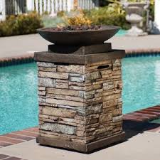 Fire Columns For Patio Fire Column Outdoor Fireplaces U0026 Fire Pits You U0027ll Love Wayfair
