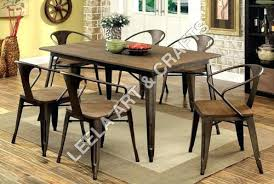 industrial kitchen table furniture industrial dining table set industrial dining table set exporter