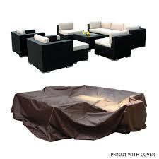 Outdoor Sectional Sofa Cover Outdoor Patio Wicker Furniture Patio Cover Large Upto 14 Pc
