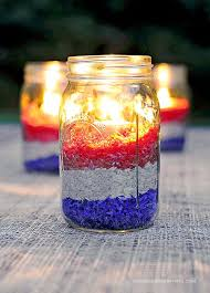 4th Of July Party Decorations Fifty Patriotic Mason Jar Ideas Yesterday On Tuesday