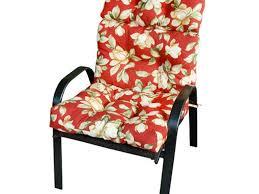 high back patio chair cushions high back patio cushion cheap