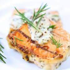 dill mustard baked salmon with mustard dill sauce recipe epicurious