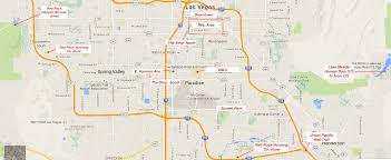 Map Of Casinos In Las Vegas by Running In Las Vegas Nevada Best Routes And Places To Run In Las