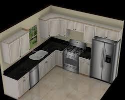 l shaped kitchen 10 x 7 design man made slabs quartz tsc