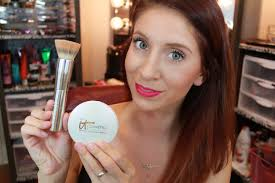 it cosmetics celebration foundation light demo review it cosmetics celebration illumination youtube