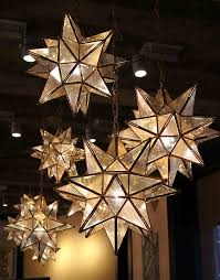 How To Hang Christmas Lights Outside by Love These Moravian Star Pendants Are Here For The
