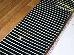 laminate floor heating