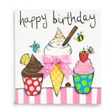 ice cream handmade childrens birthday card 2 60 a great range