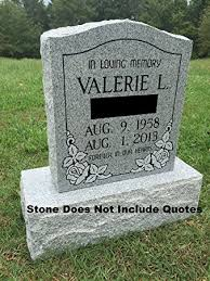 grave marker designs granite memorial headstone die and base 5 designs