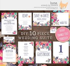 wedding stationery sets 19 totally gorgeous watercolor wedding invitations