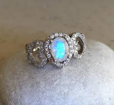 promise ring engagement ring and wedding ring set promise ring engagement ring wedding ring as silver lab opal ring