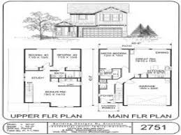 split bedroom beautiful design ideas small 2 story house plans simple level