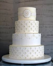 cake monograms white monogrammed cake with single initial a wedding cake