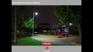 Best Garden Solar Lights by Leadsun Best Quaity All In One Solar Led Street Light All Around