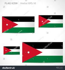 Red White Black Flag Jordan Flag Template Vector Symbol Design Stock Vector 146284808