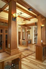 a lot to love here inlay floors wood panelling and trim
