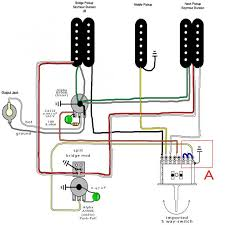 how to coil split 2 humbuckers at the same time