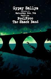 the shack band feelfree tickets gypsy sally u0027s washington