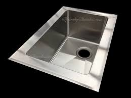 top mount stainless steel sink stainless steel sinks and copper sinks custom made by