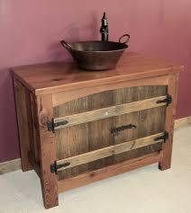arched barnwood vanity u2014 barn wood furniture rustic barnwood and