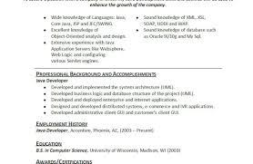 resume java developer resumes famous u201a inviting java developer