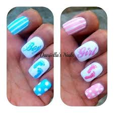 Baby Nail Art Design 15 Best Nail Art Images On Pinterest Gender Reveal Nails Gender
