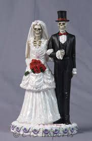 skull cake topper new never dies wedding skulls groom cake topper bridal