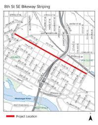 Minneapolis Neighborhood Map 8th St Se City Of Minneapolis