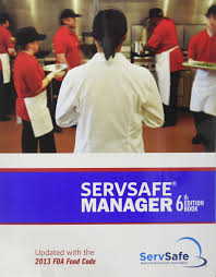servsafe manager 6th edition updated with the 2013 fda food code